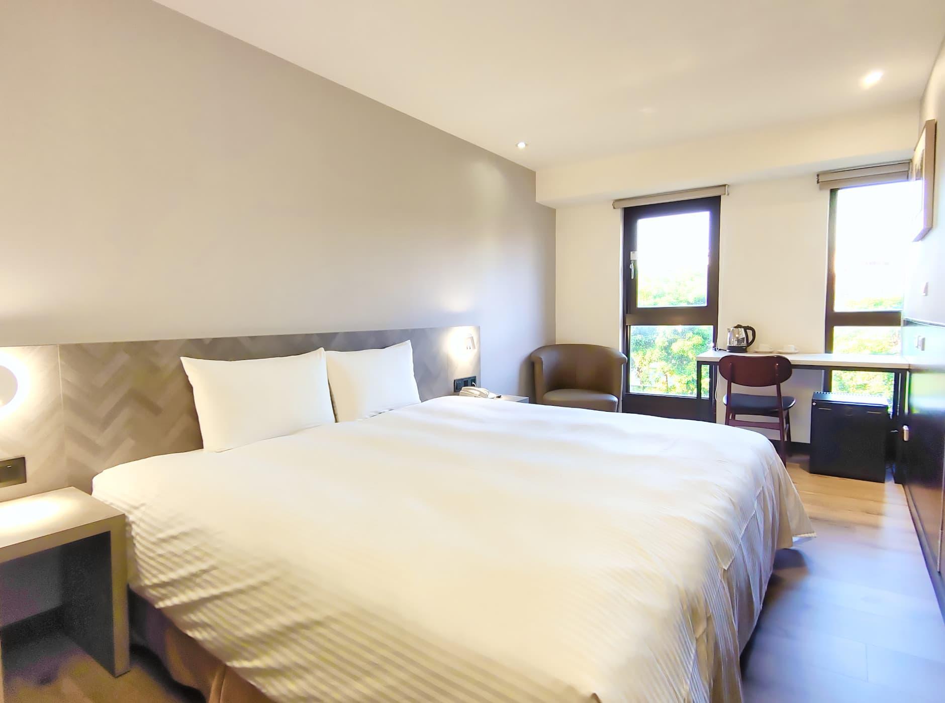 標準雙人房一大床